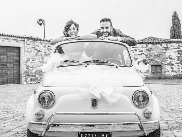 Il matrimonio di Martina e Gabriel a San Severino Marche, Macerata 27