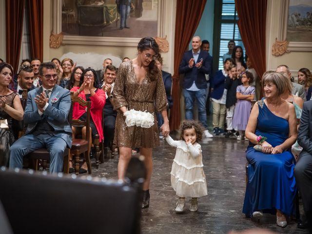 Il matrimonio di Nicoletta e Stefano a Castelnovo di Sotto, Reggio Emilia 34