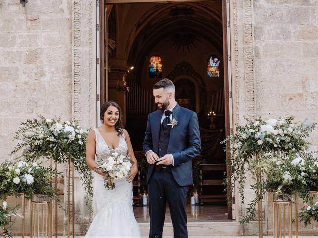 Il matrimonio di Federica e Matteo a Lecce, Lecce 129