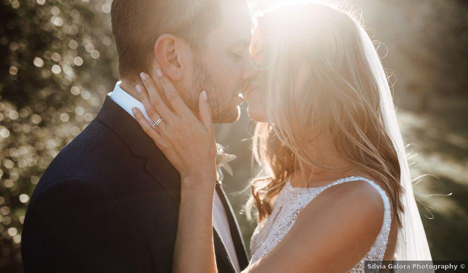 Il matrimonio di Matt e Aisha a Sinalunga, Siena