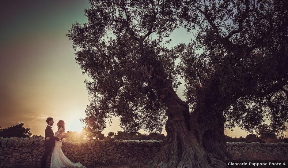Il matrimonio di Luca e Claire a Noci, Bari