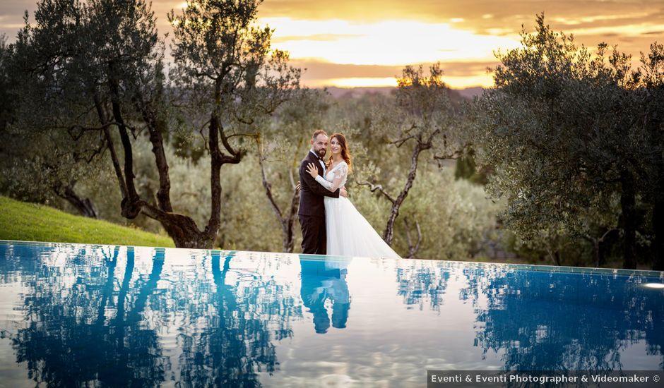 Il matrimonio di Francesco e Lucia a Montespertoli, Firenze