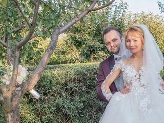 Le nozze di Indira e Marco