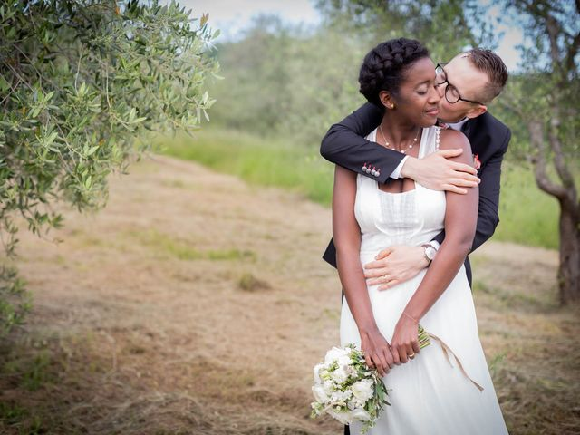 Il matrimonio di Audric e Veronique a Borgo San Lorenzo, Firenze 20