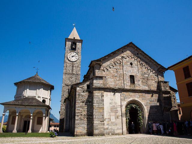 Il matrimonio di Marcello e Elisabetta a Angera, Varese 20