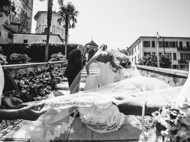 Il matrimonio di Marcello e Elisabetta a Angera, Varese 26