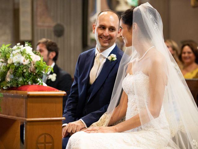 Il matrimonio di Marcello e Elisabetta a Angera, Varese 35