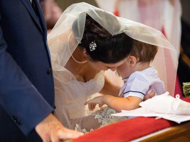Il matrimonio di Marcello e Elisabetta a Angera, Varese 43