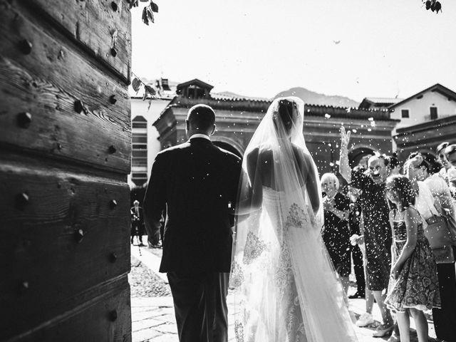 Il matrimonio di Marcello e Elisabetta a Angera, Varese 46