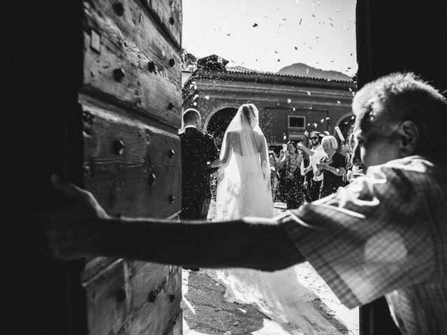 Il matrimonio di Marcello e Elisabetta a Angera, Varese 47
