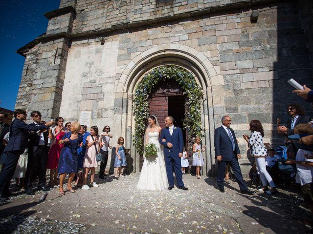 Il matrimonio di Marcello e Elisabetta a Angera, Varese 48