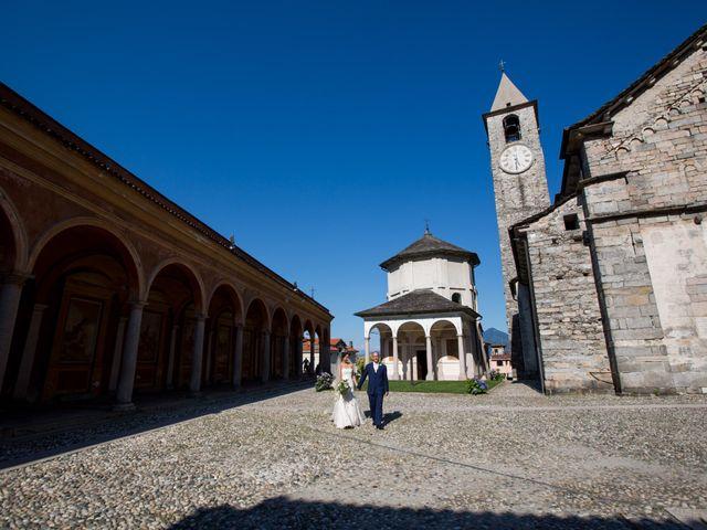 Il matrimonio di Marcello e Elisabetta a Angera, Varese 49