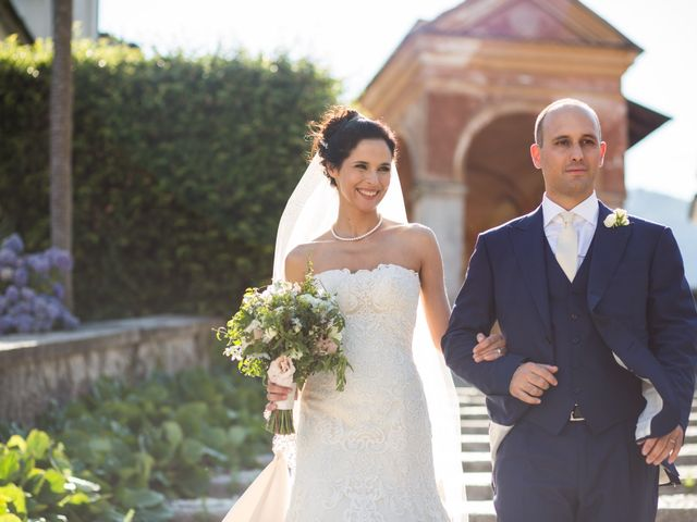 Il matrimonio di Marcello e Elisabetta a Angera, Varese 52