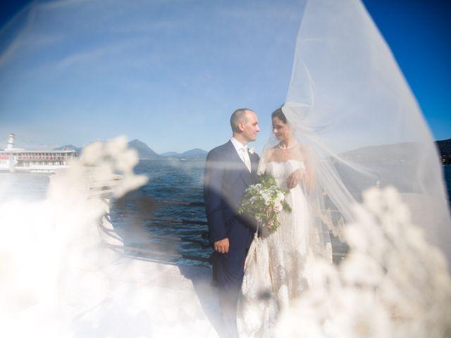 Il matrimonio di Marcello e Elisabetta a Angera, Varese 53