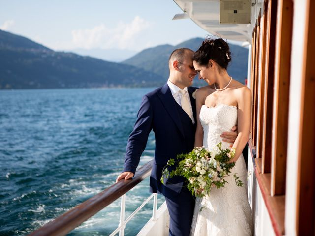 Il matrimonio di Marcello e Elisabetta a Angera, Varese 63