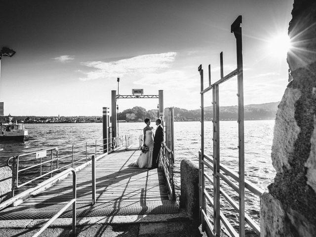 Il matrimonio di Marcello e Elisabetta a Angera, Varese 65
