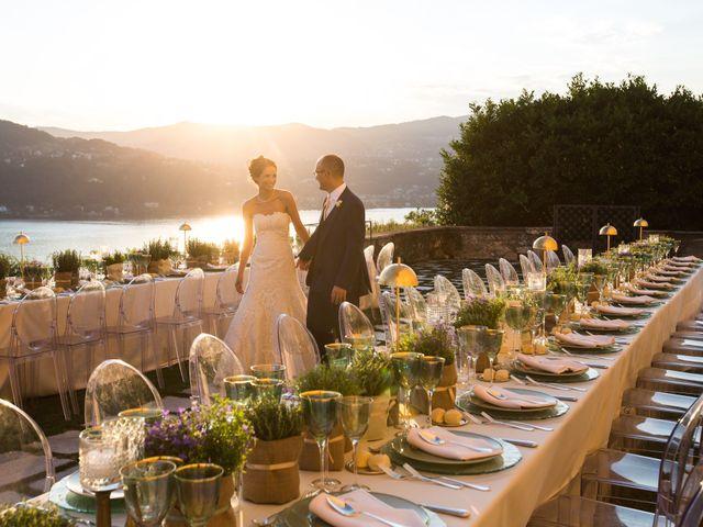 Il matrimonio di Marcello e Elisabetta a Angera, Varese 80