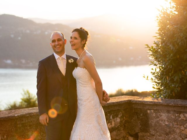 Il matrimonio di Marcello e Elisabetta a Angera, Varese 83