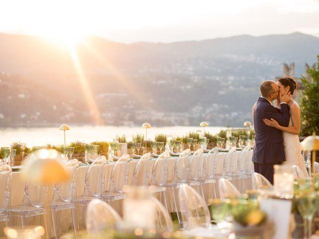 Il matrimonio di Marcello e Elisabetta a Angera, Varese 84