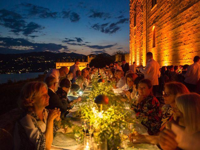 Il matrimonio di Marcello e Elisabetta a Angera, Varese 91