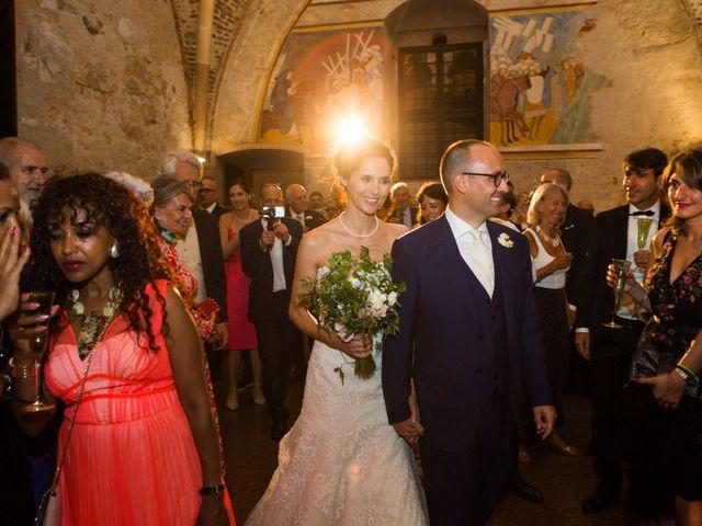 Il matrimonio di Marcello e Elisabetta a Angera, Varese 96