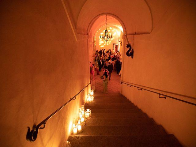 Il matrimonio di Marcello e Elisabetta a Angera, Varese 98