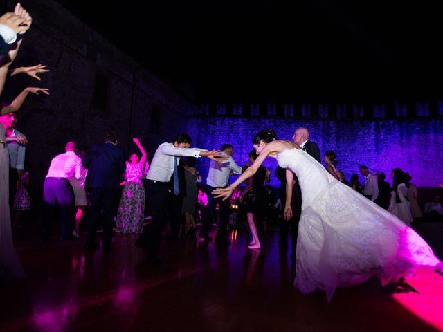 Il matrimonio di Marcello e Elisabetta a Angera, Varese 114