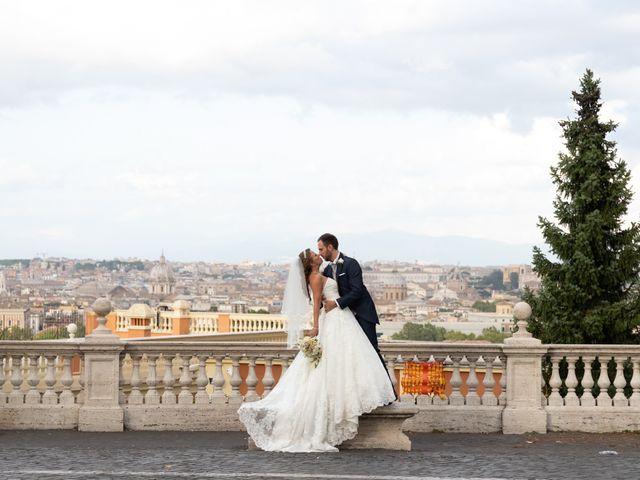 Il matrimonio di Simone e Claudia a Roma, Roma 2