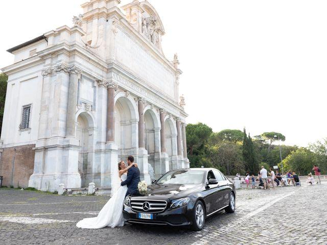 Il matrimonio di Simone e Claudia a Roma, Roma 4