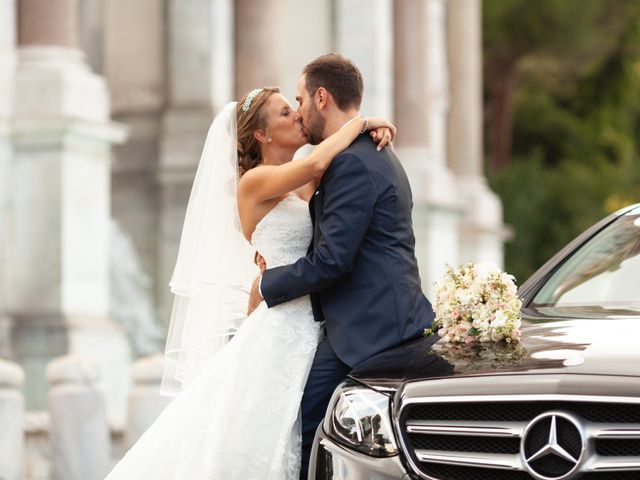 Il matrimonio di Simone e Claudia a Roma, Roma 17