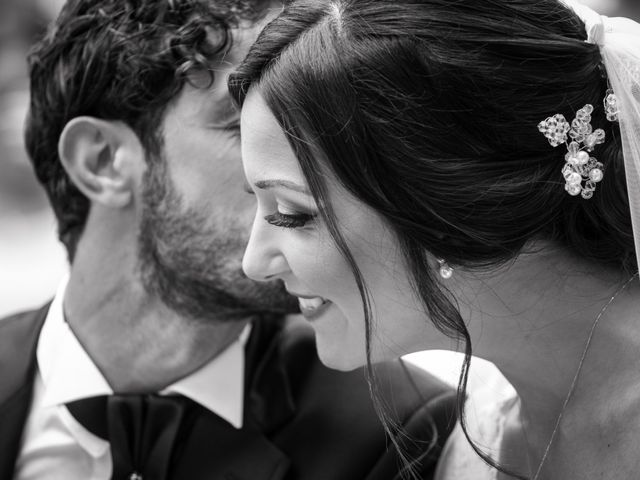 le nozze di Loredana e Tony