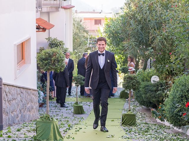 Il matrimonio di Francesco e Anna a Mercato San Severino, Salerno 8