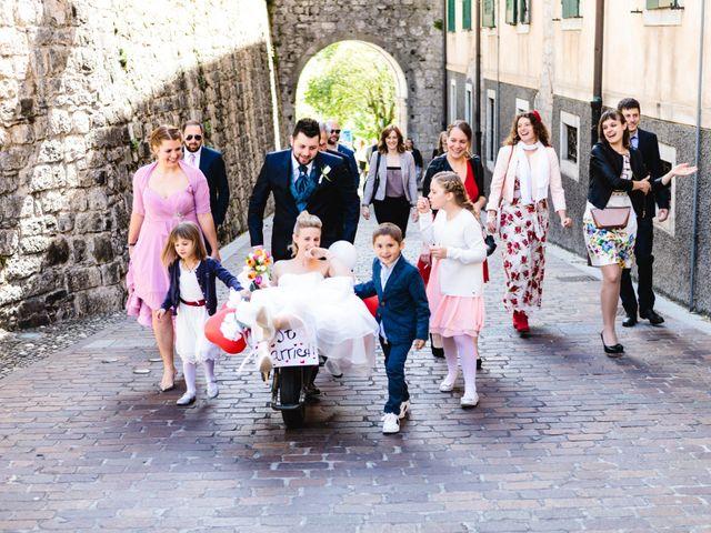 Il matrimonio di Andrea e Caterina a Gemona del Friuli, Udine 175