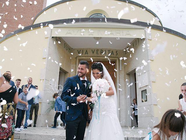 Il matrimonio di Patrizio e Veronica a Sabaudia, Latina 34