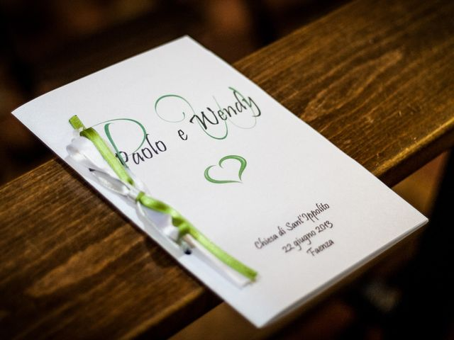 Il matrimonio di Paolo e Wendy a Bagnacavallo, Ravenna 12