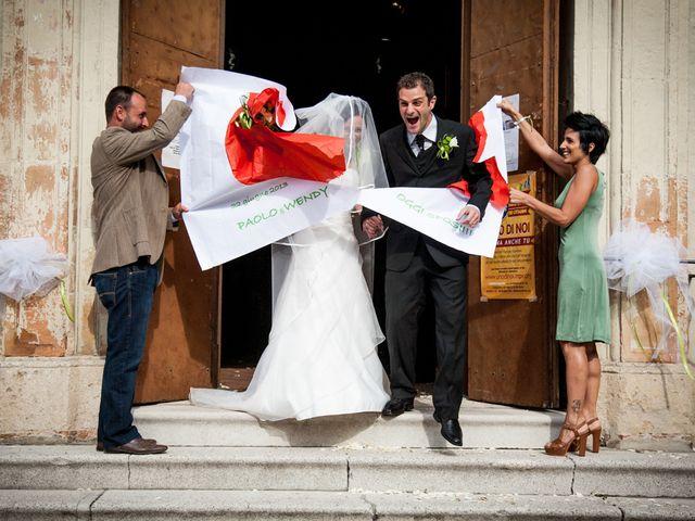 Il matrimonio di Paolo e Wendy a Bagnacavallo, Ravenna 28