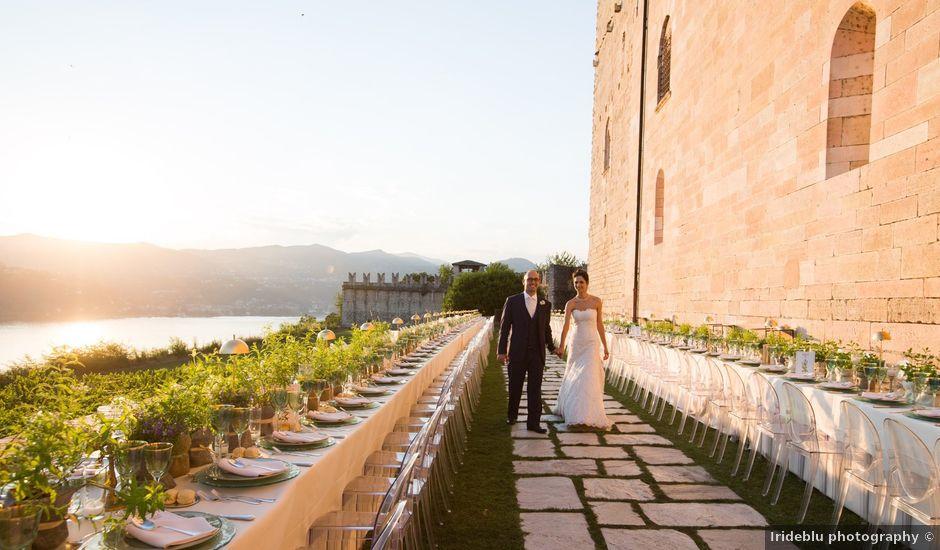 Il matrimonio di Marcello e Elisabetta a Angera, Varese