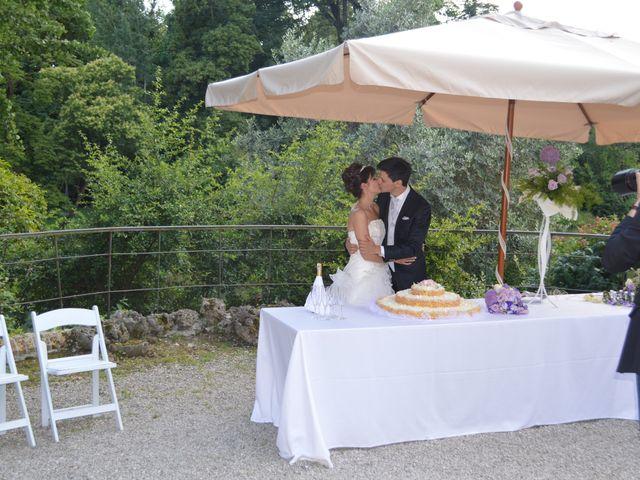 Il matrimonio di Raffaella e Giampaolo a Trevignano, Treviso 1