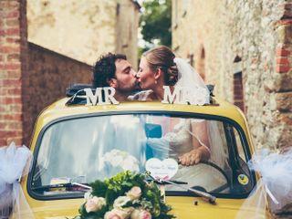 Le nozze di Tanya e Andrea