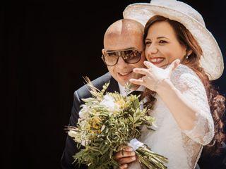 Le nozze di Vanessa e Calogero