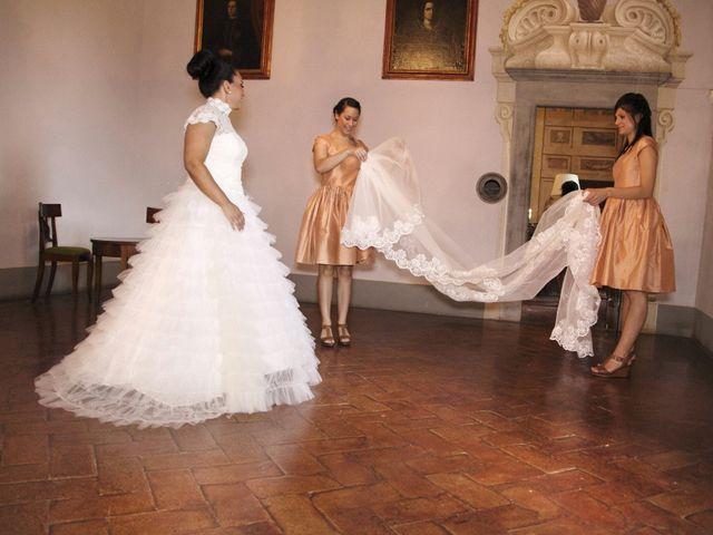 Il matrimonio di Jide e Kathleen a Castelfiorentino, Firenze 8