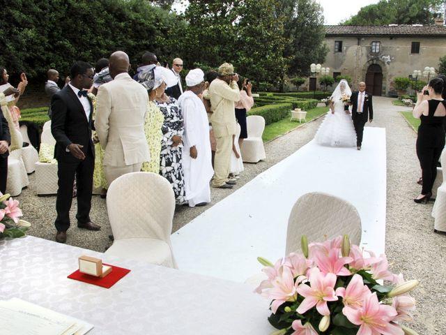 Il matrimonio di Jide e Kathleen a Castelfiorentino, Firenze 14