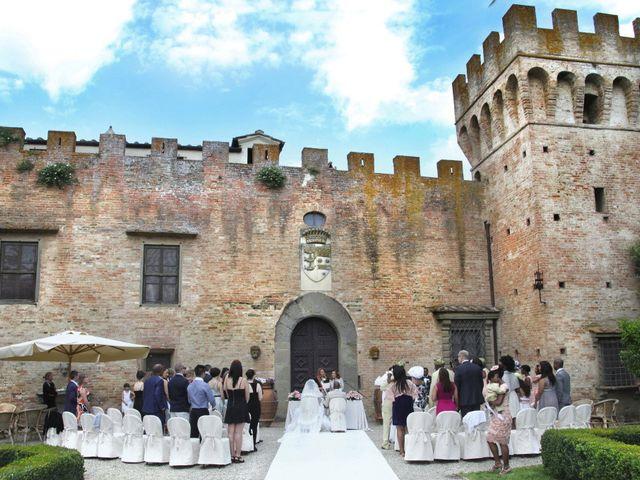 Il matrimonio di Jide e Kathleen a Castelfiorentino, Firenze 21