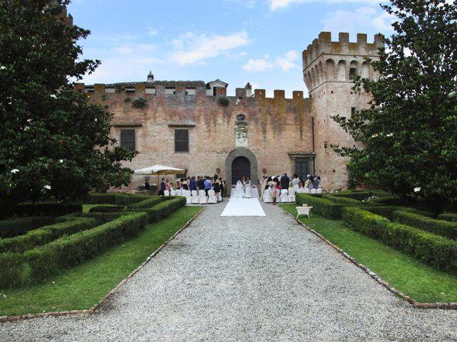 Il matrimonio di Jide e Kathleen a Castelfiorentino, Firenze 22