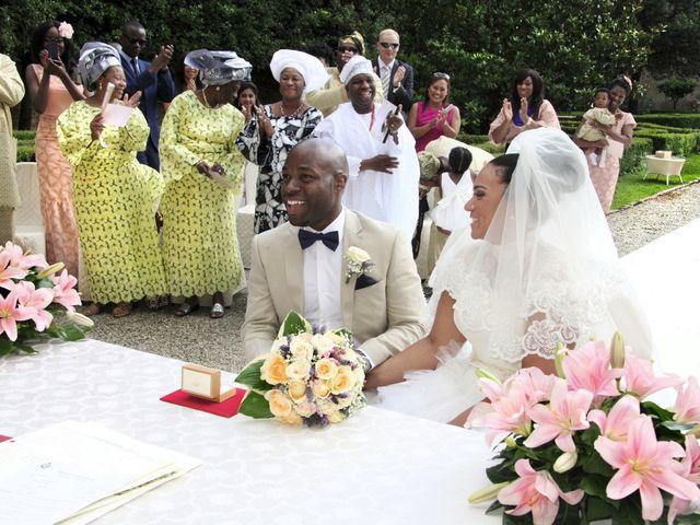Il matrimonio di Jide e Kathleen a Castelfiorentino, Firenze 28
