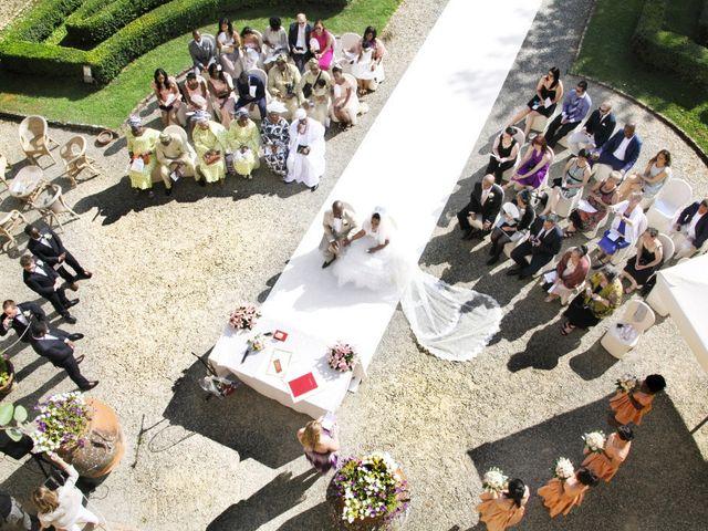 Il matrimonio di Jide e Kathleen a Castelfiorentino, Firenze 1