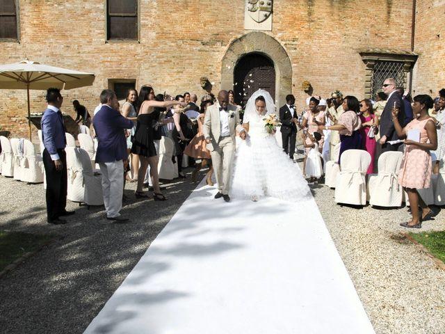 Il matrimonio di Jide e Kathleen a Castelfiorentino, Firenze 36