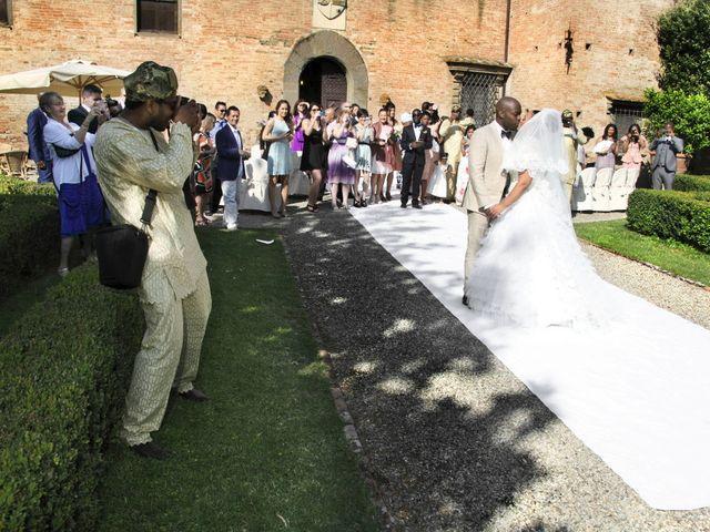 Il matrimonio di Jide e Kathleen a Castelfiorentino, Firenze 37