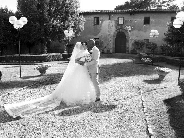 Il matrimonio di Jide e Kathleen a Castelfiorentino, Firenze 38