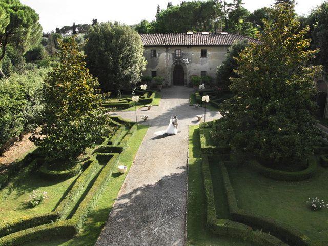 Il matrimonio di Jide e Kathleen a Castelfiorentino, Firenze 41